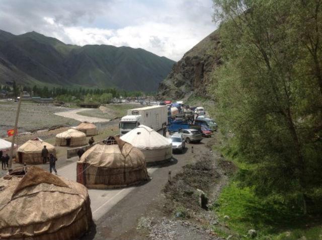 Yurt Blockade