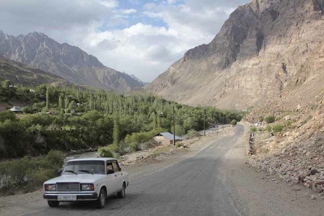 Driving in Central Asia