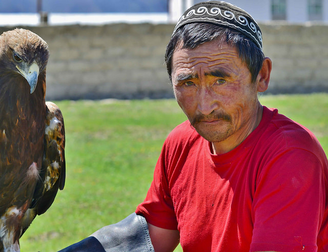 Hunting with Eagles in Central Asia