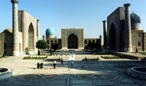 Central Asian Rally Uzbekistan Samarkand Registan