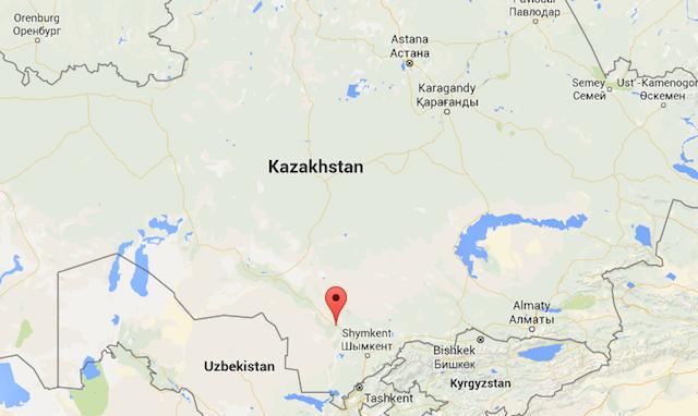 Turkistan. Photo Credit: Google Maps