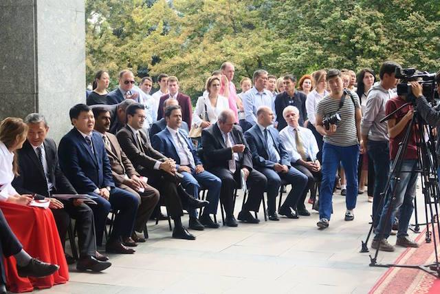 Opening Speeches. Photo Credit: MiK Facebook