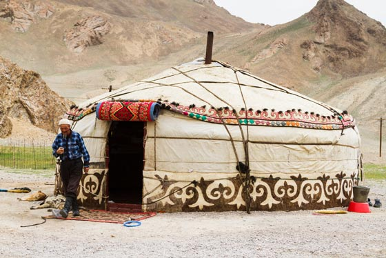 Evolution of the yurt
