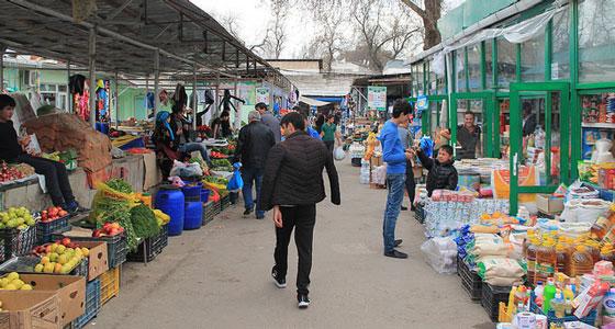 Tajik market